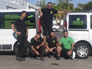 Servicio de Limpieza profesional en Málaga